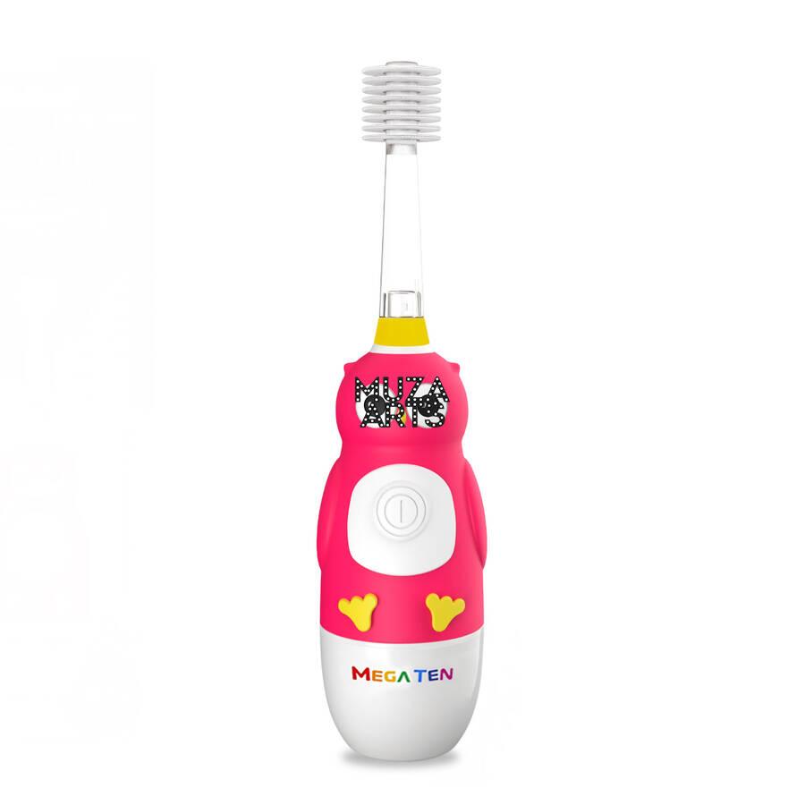 Детская электрическая зубная щетка Megaten Kids Sonic   Сова